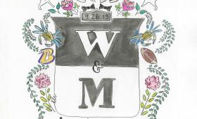 W & M Crest (9×12)