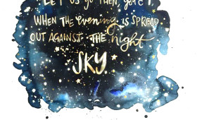 Night Sky / 9×12