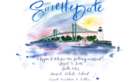 Newport, Rhode Island | Save the Date