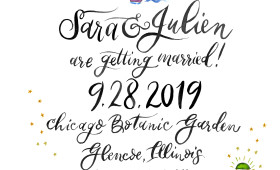 Chicago Botanic Gardens | Save the Date