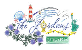 Personalized Stationary | New York City and Nautical